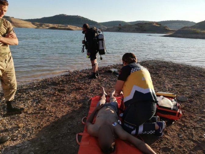 2 Ay sonra askere gidecekti baraj göletinde boğuldu
