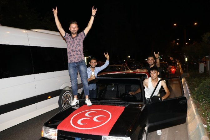 Kahramanmaraş'ta 15 Temmuz konvoyu
