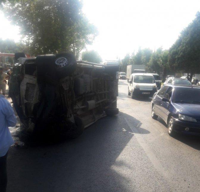 Kahramanmaraş'ta trafik kazası: 3'ü ağır 12 Yaralı