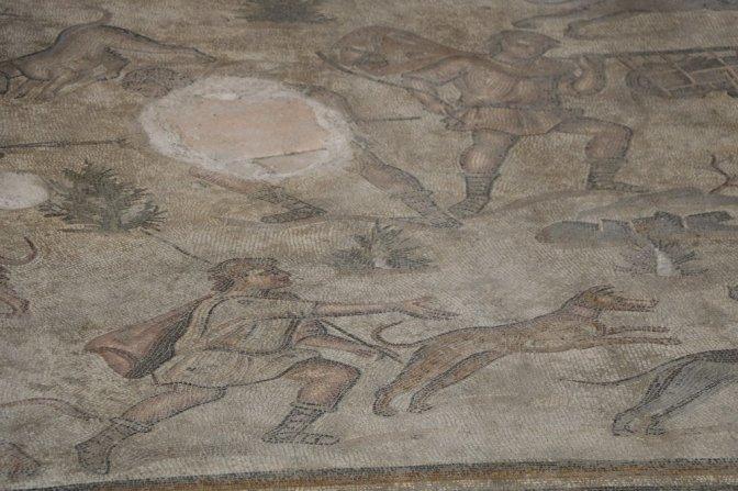Germanicia mozaikleri vatandaşların ziyaretine açıldı