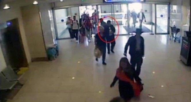 Atatürk Havalimanı'nda kıskıvrak yakalandı!