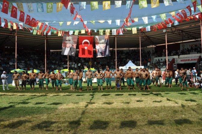 45. Eshab-ı Kehf karakucak güreş festivali başladı
