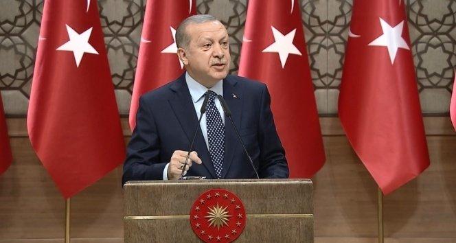 Cumhurbaşkanı Erdoğan'dan sert sözler: Şu an benim şahsen sabır safhamdır