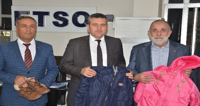 ETSO'dan bin 200 öğrenciye kışlık kıyafet yardımı
