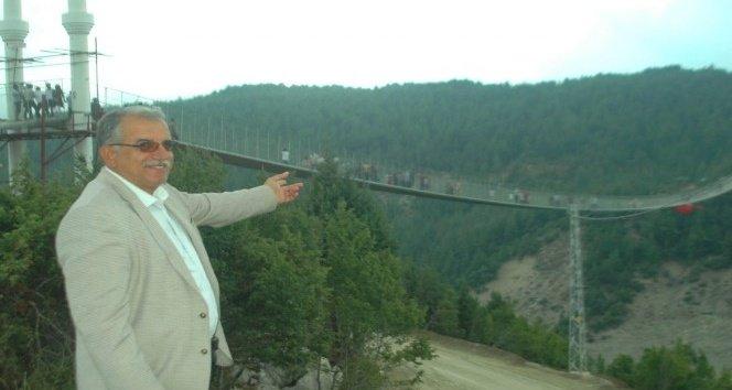 Andırın'daki asma köprüye İngiltere'den ödül!