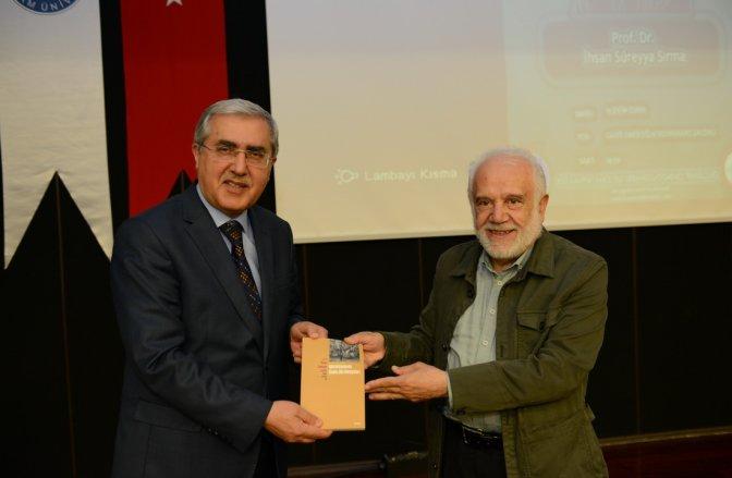 Prof. Sırma, KSÜ Öğrencileriyle Bir Araya Geldi