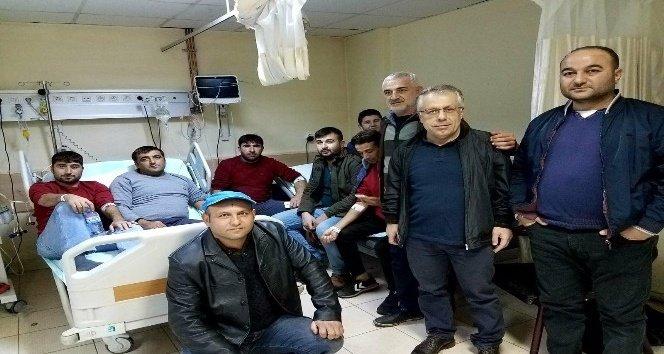 Kahramanmaraş'ta işçilerin yemekten zehirlendiği iddiası