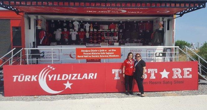 Türk Yıldızları TIR'ı Kahramanmaraş'ta