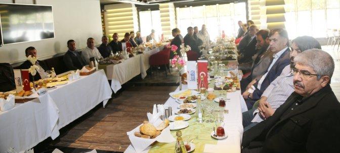 KMTSO Meslek Komitesi Başkanları toplandı