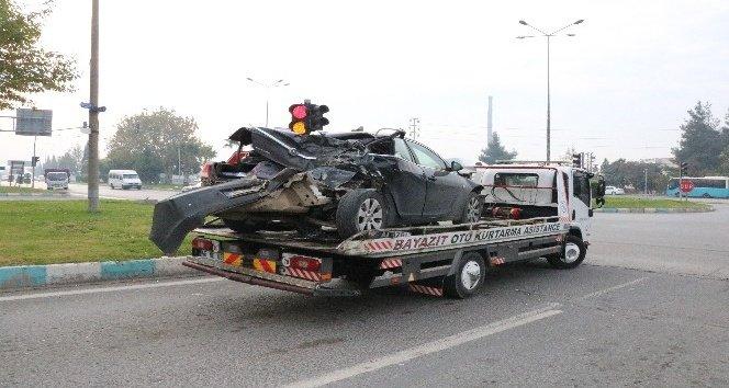 Kahramanmaraş'ta 10 araç birbirine girdi: 2 yaralı