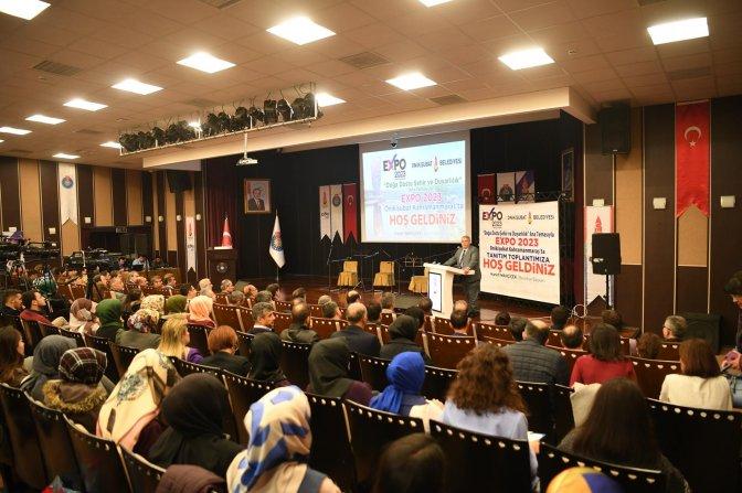 Üniversitelilere EXPO 2023 tanıtıldı