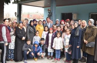 Başkan Okumuş minik öğrencilerle bir araya geldi!