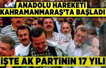 AK Parti Kahramanmaraş'ta kuruldu