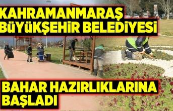 Büyükşehir belediyesi bahar hazırlığına başladı...
