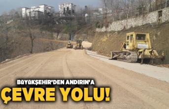 Büyükşehir'den Andırın'a çevre yolu!