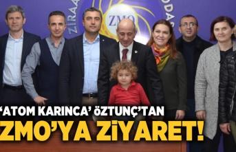 Kahramanmaraş'ta 'Atom Karınca' Öztunç'tan ZMO ziyareti