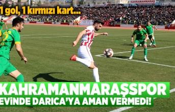 Kahramanmaraşspor-Darıca Gençlerbirliği maç sonucu 1-0