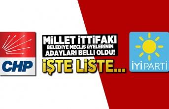 Millet İttifakı Kahramanmaraş meclis üyeleri şöyle...