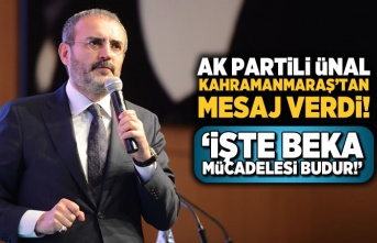AK Partili Ünal: İşte beka mücadelesi budur