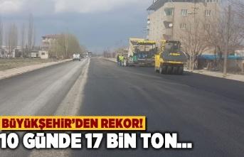 Büyükşehir'den rekor! 10 günde 17 bin ton...