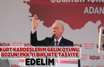 Cumhur İttifakı CHP'li, İYİ Partili ve Kürt kardeşlerimi kucaklayacaktır