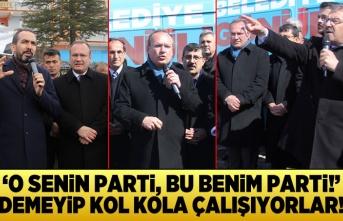Kahramanmaraş'ta Cumhur İttifakı kol kola çalışıyor