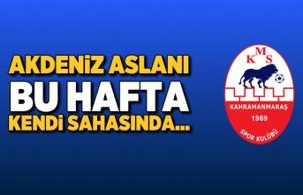 Kahramanmaraşspor bu hafta kendi sahasında...
