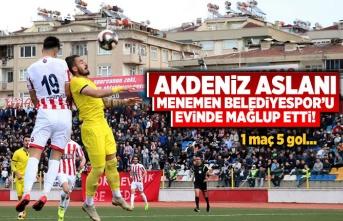 Kahramanmaraşspor-Menemen Belediyespor maç sonucu