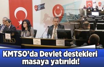KMSTO'da Devlet destekleri masaya yatırıldı!