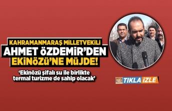 Milletvekili Özdemir'den müjde üstüne müjde!