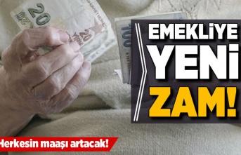 Milyonlarca emeklinin maaşına zam!