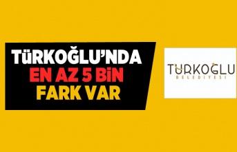 Türkoğlu'da en az 5 bin fark var!