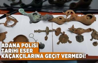 Adana Polisi tarihi eser kaçakçılarına geçit vermedi!