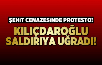 CHP Lideri Kılıçdaroğlu'na cenaze'de saldırı!