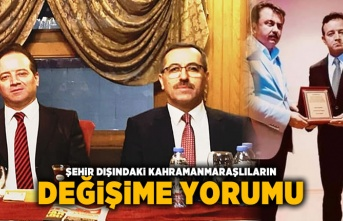 İzmir MARAŞDER'den Hayrettin Güngör'e hayırlı olsun mesajı!