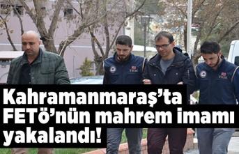 Kahramanamaraş'ta 4 Yıl kesinleşmiş cezasıyla aranan Fetö'nün mahrem imamı yakalandı!