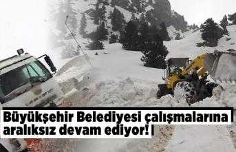 Kahramanmaraş Büyükşehir Belediyesi çalışmalarına aralıksız devam ediyor!