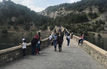 Kahramanmaraş'ta bahar ayı piknik ayı oldu!