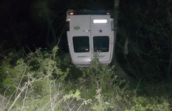 Kahramanmaraş'ta dehşet veren kaza! Minibüs dereye uçtu