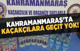 Kahramanmaraş'ta kaçakçılara geçit yok! Şişe şişe ele geçirdiler...
