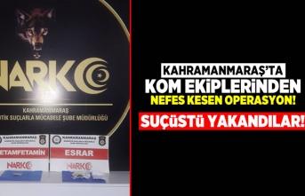Kahramanmaraş'ta KOM ekiplerinden nefes kesen operasyon!
