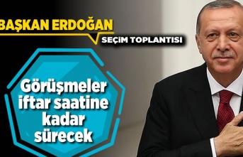 Başkan Erdoğan Seçim toplantısı