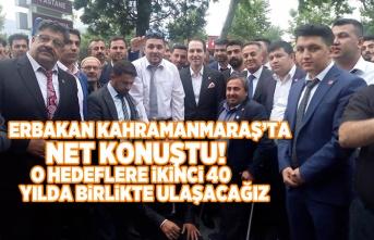 Erbakan Kahramanmaraş'ta net konuştu!  O hedeflere ikinci 40 yılda birlikte ulaşacağız
