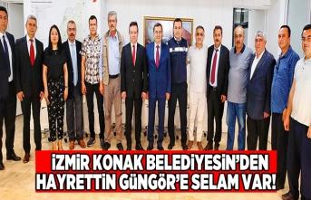 İzmir'den Kahramanmaraş'a uzanan selam