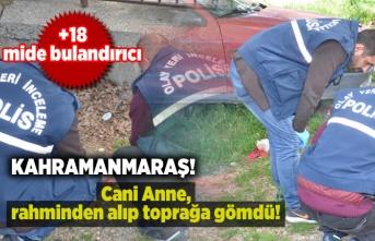 Kahramanmaraş'ta bir Anne rahminden alıp toprağa gömdü!