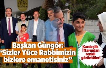 Kahramanmaraş'ta Kardeşlik İftarı düzenlendi!