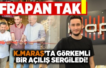 Frapan Takı Kahramanmaraş'ta Görkemli bir açılış sergiledi