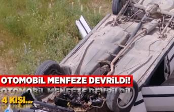 Kahramanmaraş'ta bir kaza daha! 4 kişi...
