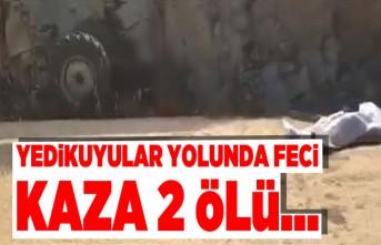 Kahramanmaraş'ta feci kaza!