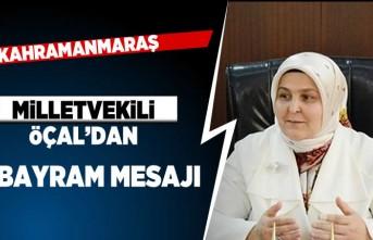 Milletvekili Öçal'dan Bayram mesajı